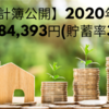 【家計簿公開】2020年9月(貯蓄84,393円)