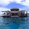 フィジーの海上バーCLOUD9最高