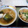 武州長瀬【上海飯店】豚玉毛丼・ラーメンセット ¥750