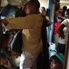 タンザン鉄道の中は世紀末の無法地帯。アベシッ✨