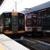 阪神9000系 9205Fと近鉄1252系+9020系 VE73+EE32