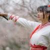 梅の花と武侠美女のポートレート撮影会IN上海闵行体育公園