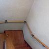 階段に手摺りを付けました。その見栄えと効果は?