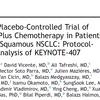 【KEYNOTE407, Final】未治療進行扁平上皮肺がんに対するぺムブロリズマブ併用化学療法の全生存は17.1カ月