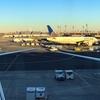 777-300に搭乗、12時間の旅。