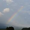 夕方5時過ぎに虹が・・・・・・
