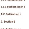 CSSで目次を含めた章番号を自動的に採番・表示する