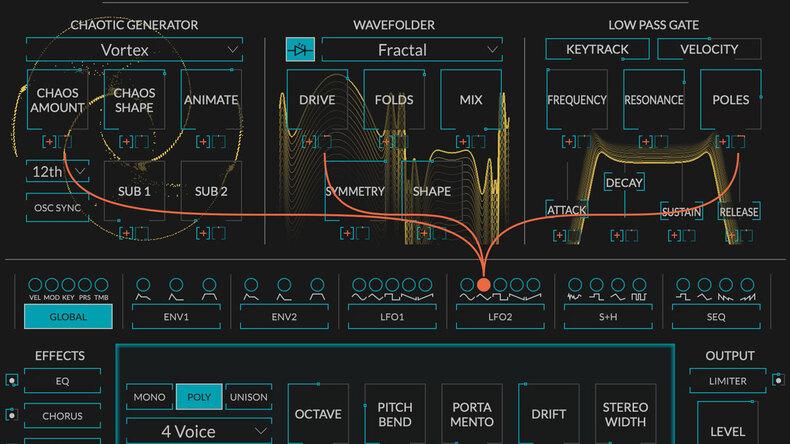 EVENTIDEからカオス・ジェネレーターを搭載するポリフォニック・ソフト・シンセ、Generateが登場