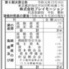 株式会社プレイモーション 第6期決算公告