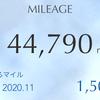 6月のANAマイル数の報告