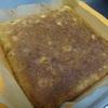 バナナとクルミのケーキ