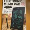 ダイソーの電子メモパッドを購入しました