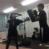キックボクシングを大阪のパーソナルトレーニングジムで☆