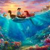 ディズニー映画を1枚の絵に収めたような絵画