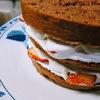 続々スポンジケーキが膨らまない!別立てココアスポンジでクリスマスケーキ