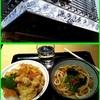 17/12/02の昼食(豚天丼の麺セット)