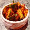 【料理】簡単キュウリの浅漬けキムチの作り方(オイムッチムの作り方)