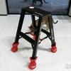長谷川工業「脚軽」カッコいい黒と赤の脚立を買った! これ最強の踏み台でしょ?