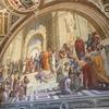 本物のアテネの学堂