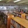 夏休みの図書室です