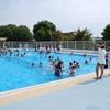 水泳の授業 6年生