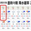 コロコロ変わるお天気ですが、大丈夫?─ 富山県撮影会の日の天気予報!その6 ─