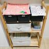 【生後6ヶ月】我が家の赤ちゃん棚。おでかけセットも完成しました。