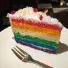 マリーナ ベイ サンズのカフェ High Societyのレインボーケーキに一目惚れ❤