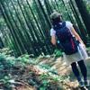 私の趣味は単独ハイキングです