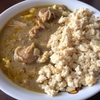 高知県のレトルトカレーといえば「四万十ぶしゅかんグリーンカレー」!ごはん代わりの冷凍豆腐で糖質オフ