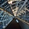 京都駅ビルのイルミネーションスカイウォーク2017。
