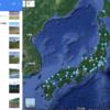 Jリーグのスタジアム(Googleマップ)