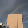 🌈都心での虹