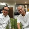 荘村清志先生、フォレストヒルにお立ち寄りいただきました!明日は九響です!