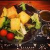 揚げ豆腐アボカド丼 @ 南青山野菜基地