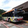 奈良県)日本一長い路線バスで日本一大きな村、十津川村へ。熊野古道小辺路果無集落。