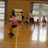 部活動:バスケットボール 男女でゲーム