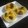 米粉でモチモチのかぼちゃの蒸しケーキを作った🎃