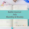 Bullet Journal 7月のセットアップ お披露目!