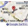 キーワードの地図を GoogleEarth に表示する機能について