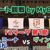 【リモート観戦 by MyCujoo】F2リーグ 2020 第1節 ヴィンセドール白山×アグレミーナ浜松
