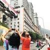 重慶市がサイバーパンクの街として人気の旅行先に