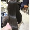透明感ある髪色!アッシュグレーのブリーチなしカラースタイル!