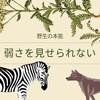 『弱さの開示』野生動物との違い