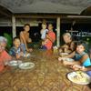 村でのステイ先-3 「サモアの食卓」