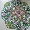 【植物好きな人におすすめの大人の塗り絵「心を整える、花々のマンダラぬりえ】
