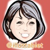 iPadで描いた 一般の方 Yさんの似顔絵と似顔絵が出来上がるまで。