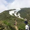 谷川岳(2017.6.24)なかなかワイルドな山。鎖場と岩場が多め。