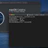 macOS 10.15 beta 10 インストール