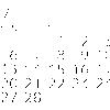 OpenTypeフォントで万年カレンダーをつくる